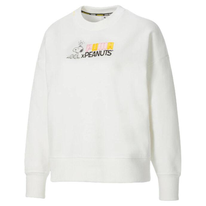 PUMA x PEANUTS Crew Neck Women's Sweatshirt