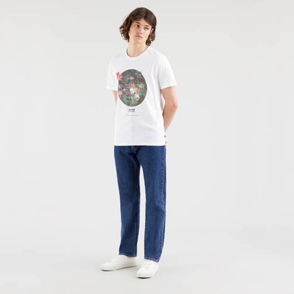 Levi's® Graphic Crewneck Tee-SSNL BT Fill White