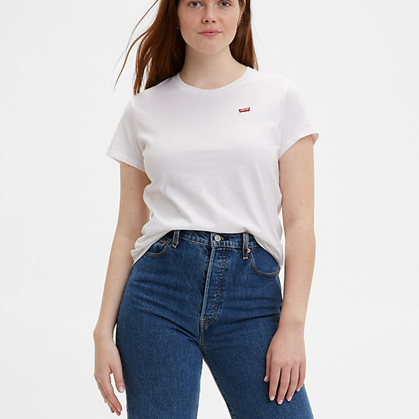 Levi's® Perfect Tee- White CN-100XX