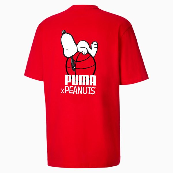 Puma X Peanuts Men's Tee Red