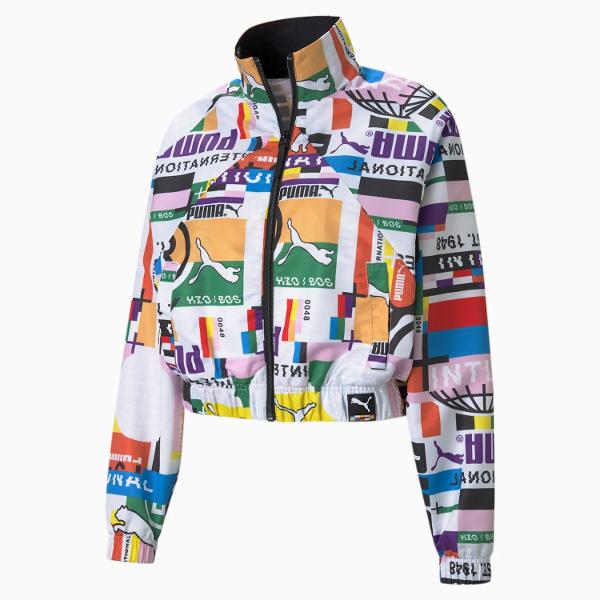 Puma International Printed Woven Women's Track/Jacket