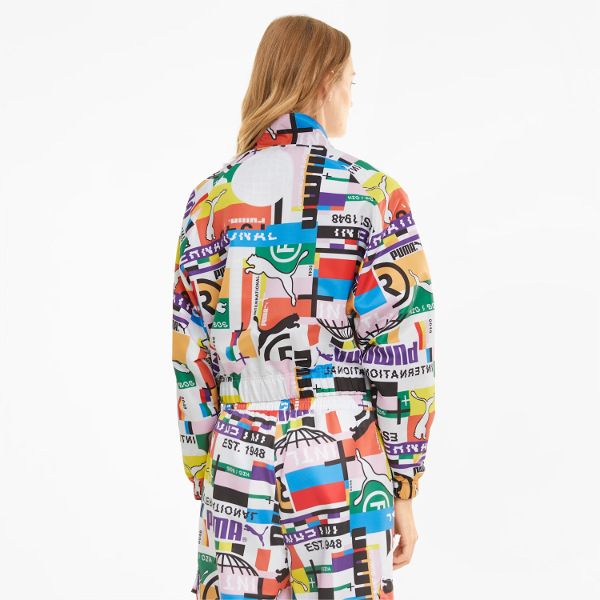 Puma International Printed Woven Women's Track/Jacket