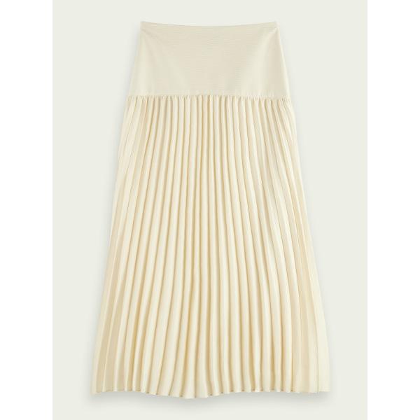 Scotch & Soda Women's Pleated maxi skirt