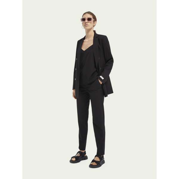 Scotch & Soda Women's Cotton-Blend Camisole Black