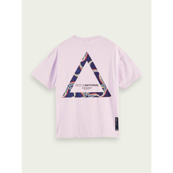 Scotch & Soda Graphic Organic Cotton T-Shirt