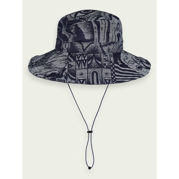 Scotch & Soda Maison Women's Artwork Bucket Hat