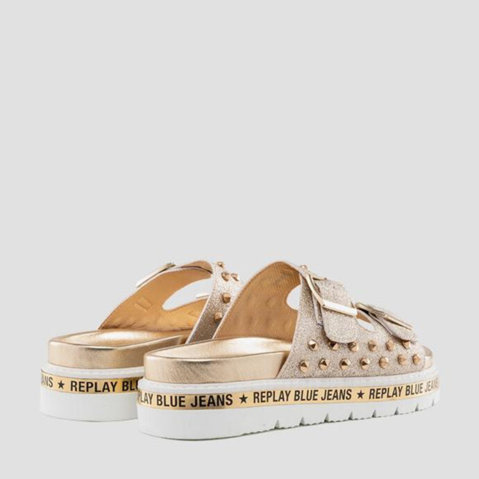 Replay Women's HACKBERRY Mules LT Gold