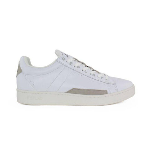 Replay CLASSIC BASE Men's White Sneakers