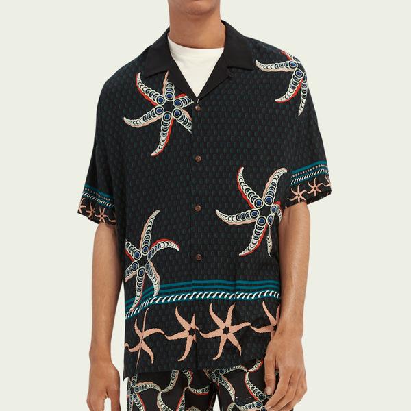 Scotch & Soda ECOVERO™ Oversized Hawaiian Shirt