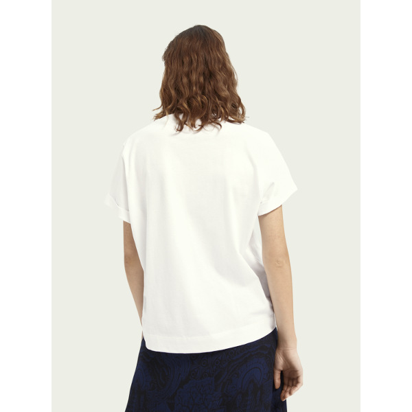 Scotch & Soda Women's Graphic Relaxed-Fit T-Shirt