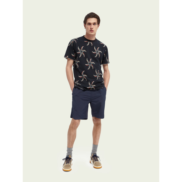 Scotch & Soda Printed Cotton T-Shirt