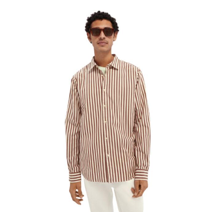 Scotch & Soda Men's Regular-Fit Cotton Shirt