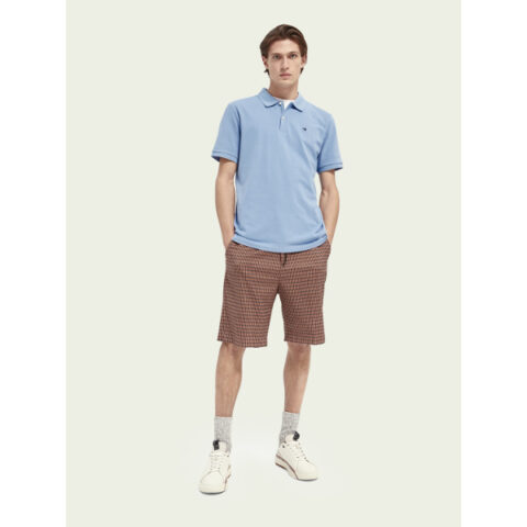 Scotch & Soda Men's Classic Polo Seaside Blue