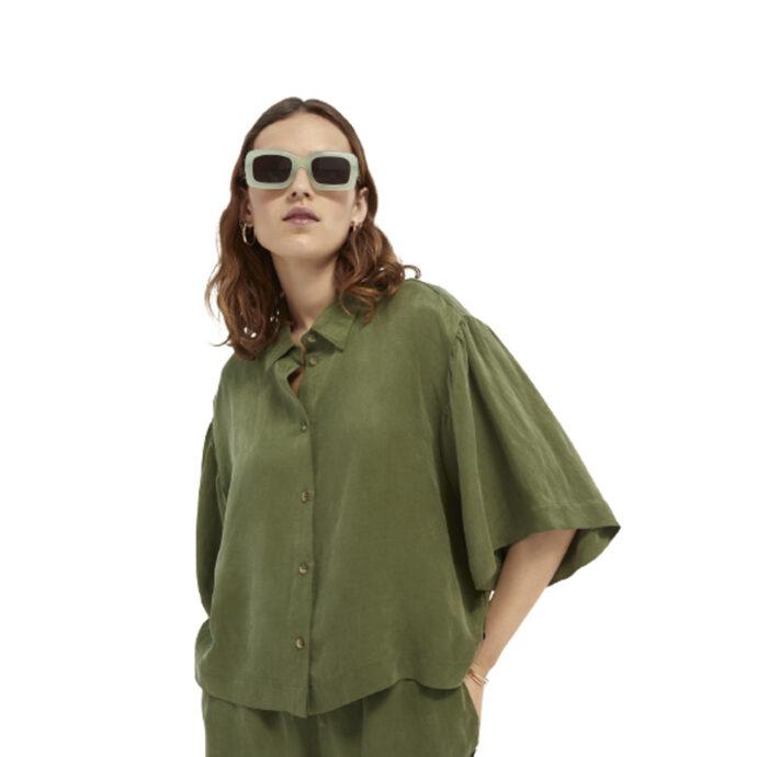 Scotch & Soda Maison Women's Short-sleeved shirt