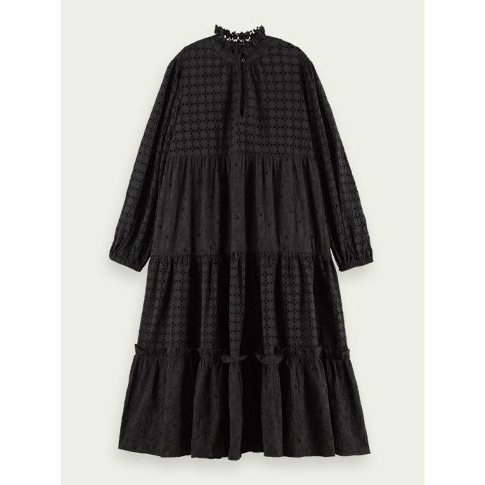 Scotch & Soda Women's Cotton Dress Black