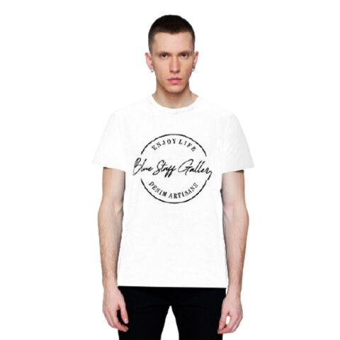 Staff Men's Frank T-Shirt White