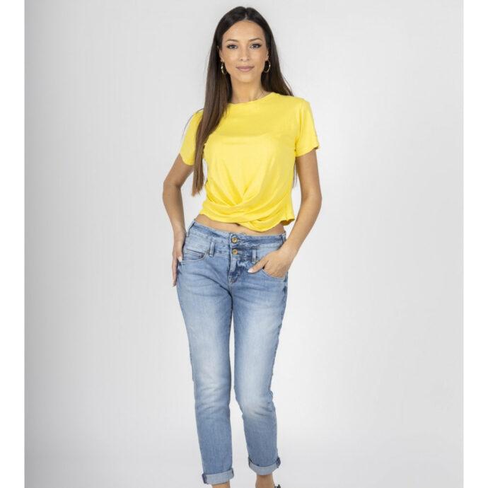 Staff Skinny-Bianca Women's Blue Jeans