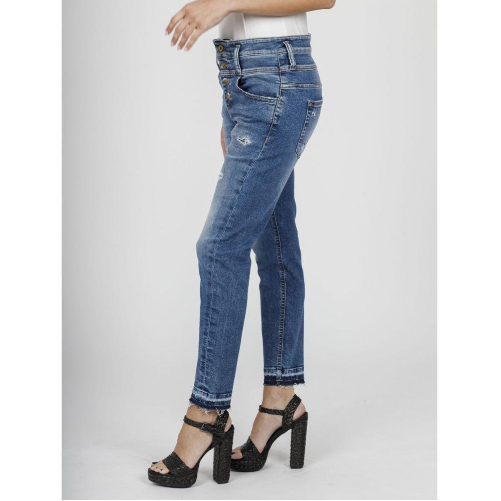 Staff Boyfriend-Irene Cropped Wmn Jeans