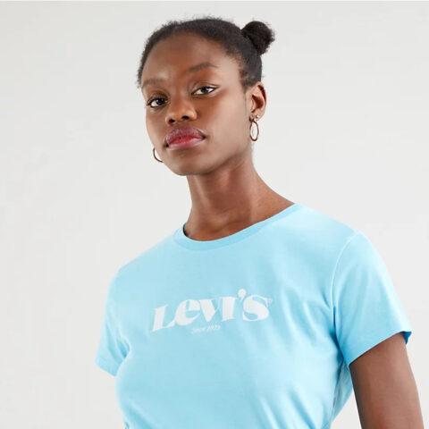 Levi's® New Logo Blue Topaz Tee