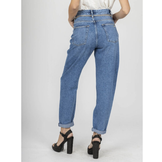 Staff Regular-Leila Women's Blue Jeans
