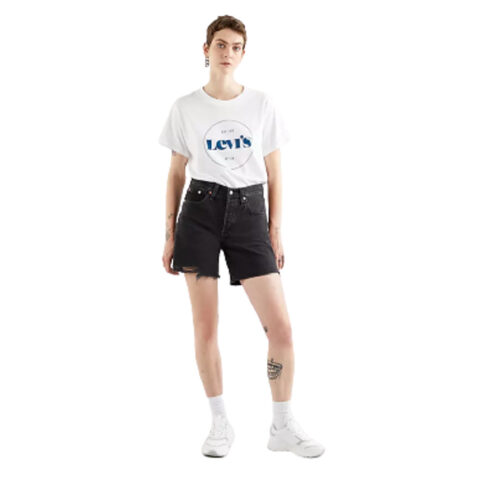 Levi's® Lunar Black 501® Mid-Thigh Short