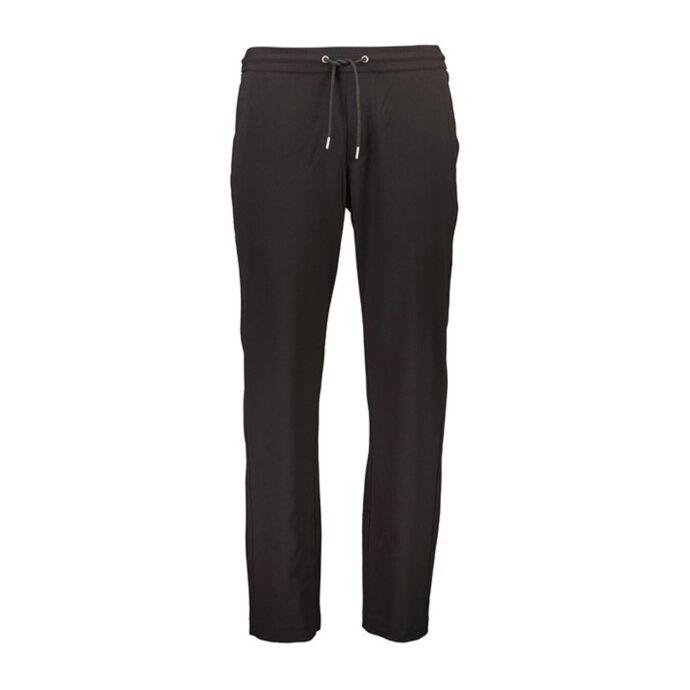Lindbergh Ανδρικό Μαύρο Παντελόνι Με Κορδόνι