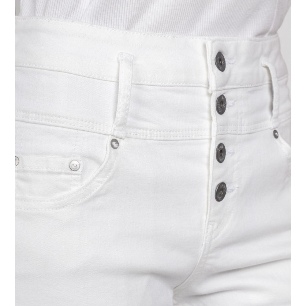 Irene Staff Cropped Wmn White Pant