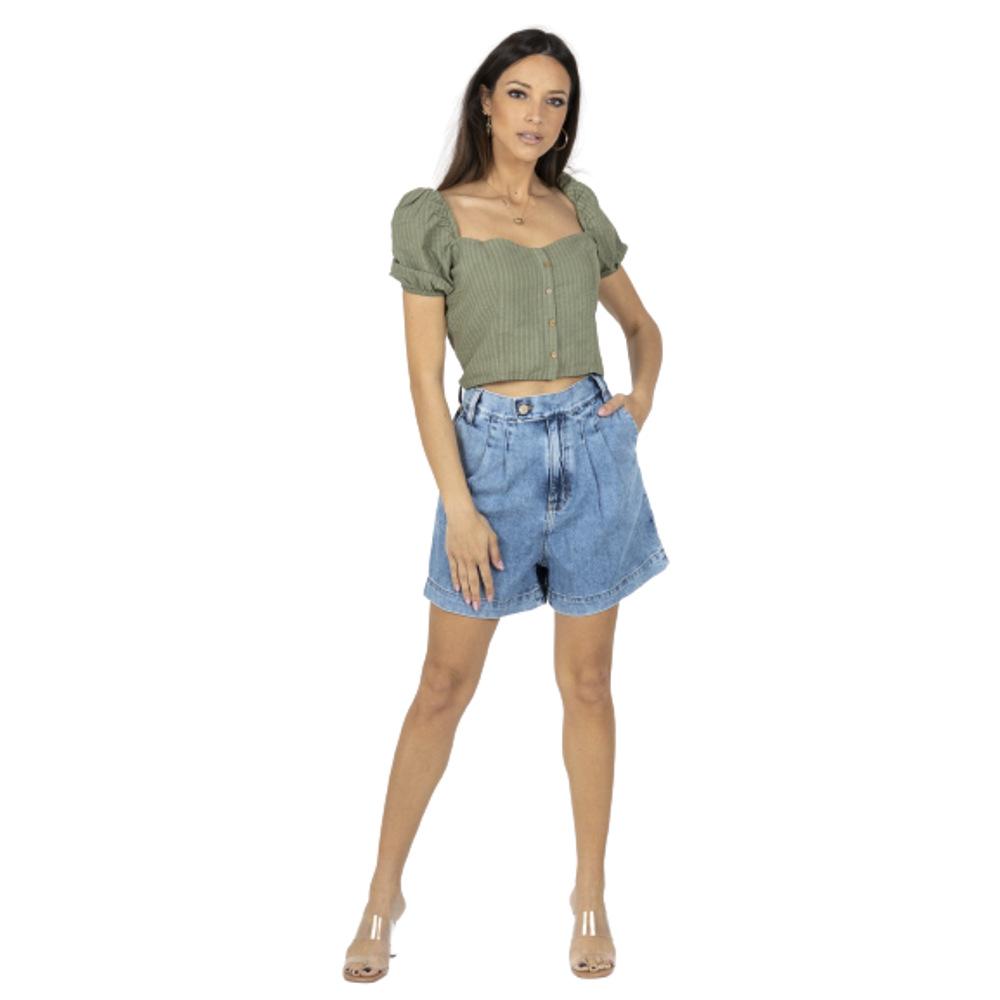 Ralita Woman Short Blue-jeans Staff