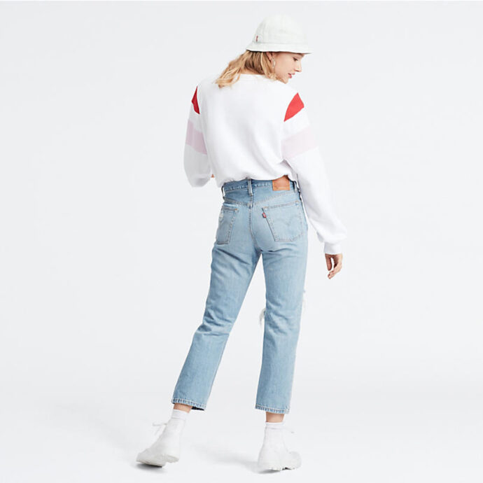 Levi's® 501® Crop-Montgomery Patched WMN