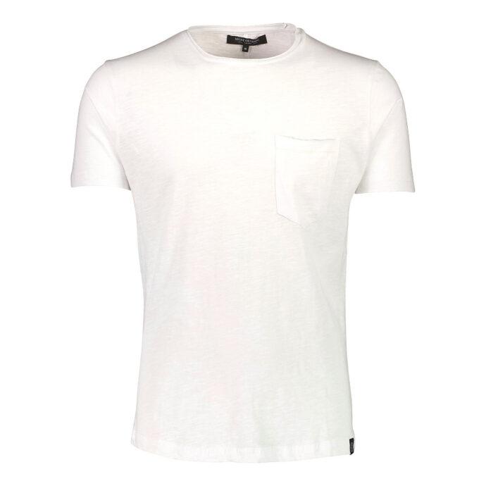 Men's Cotton TEE White With Pocket