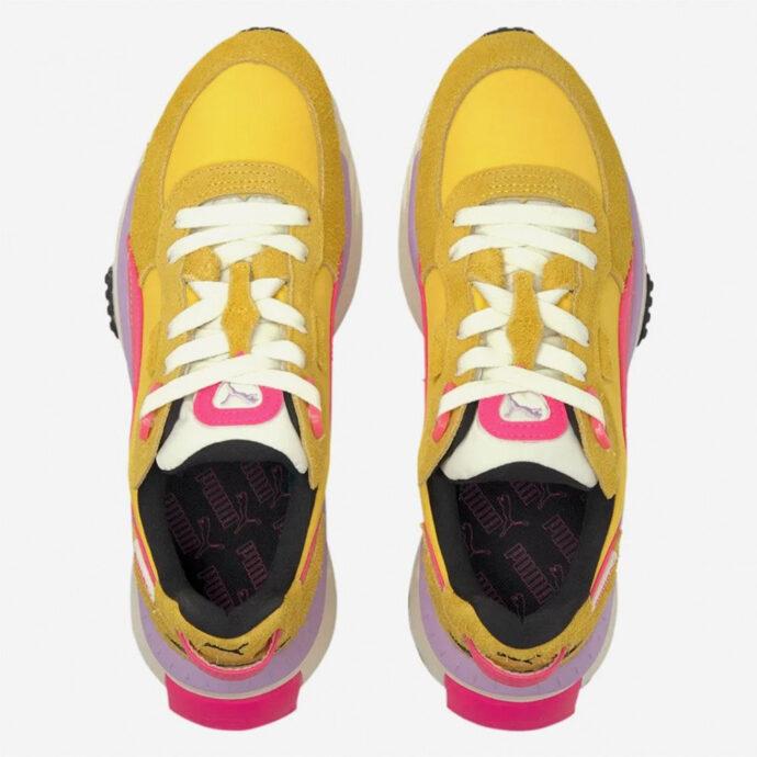 Puma Wild Rider Vintage Super/Lemon-Glowing/Pink