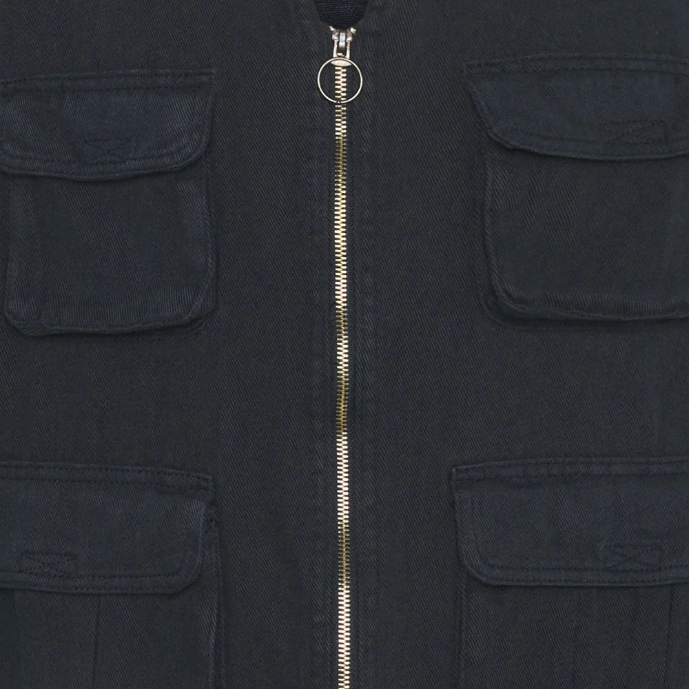 Shine Original Men's Utility Twill Vest Navy