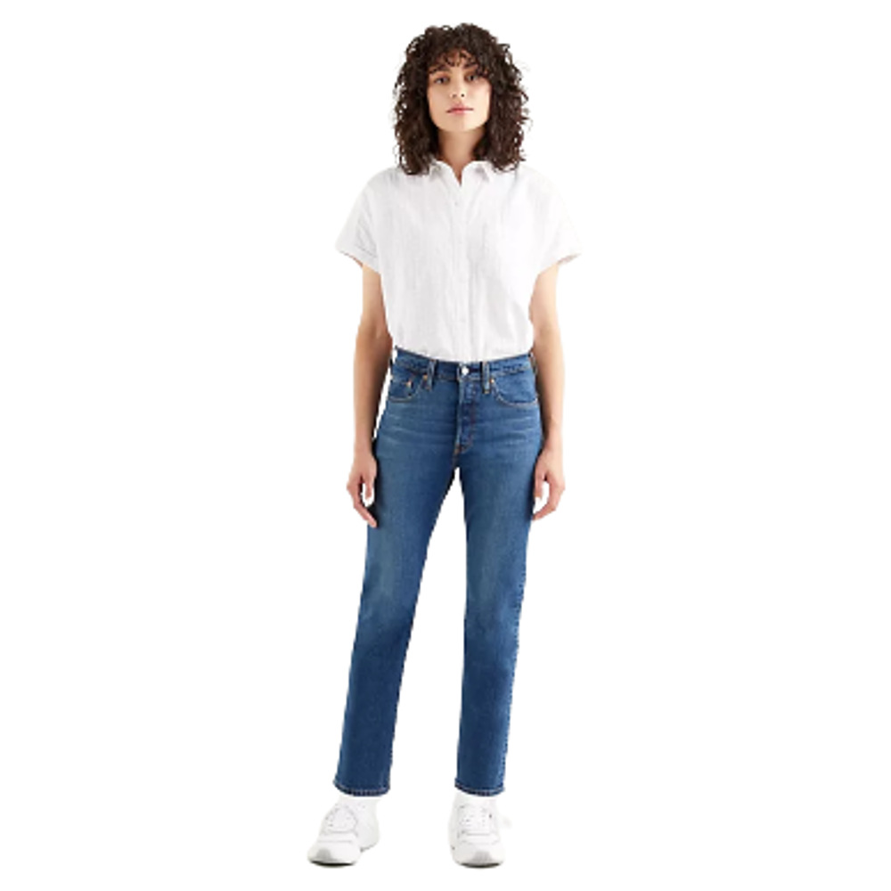 Levi's® Women's 501® Original Crop-Charleston Outlasted