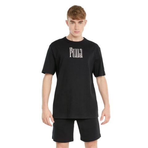 Puma Men's Black Tee Downtown Graphic