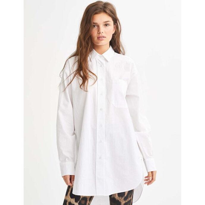 MbyM Women's Brisa Shirt-White