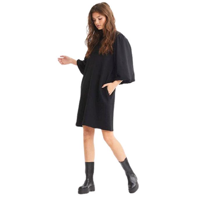MbyM Women's Black Dress-Emmaline Jess