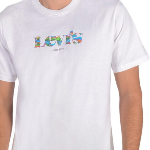 Levi's® SS Relaxed Fit Tee-SSNL MV Logo Fill White