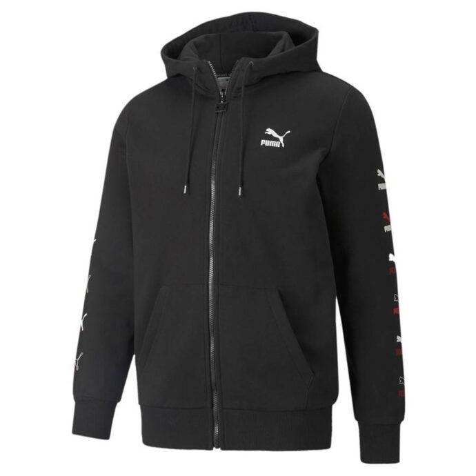 Puma Men's CG Full-Zip Hoodie TR Black