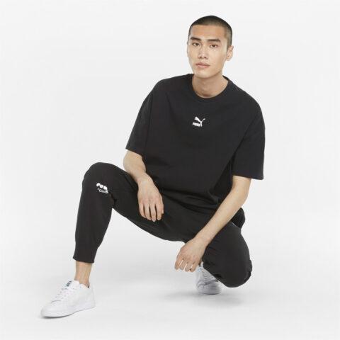 Puma Men's CLUB Sweatpants Black