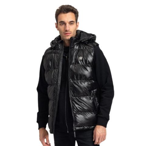 Staff Men's Vest Jacket ELISON Black