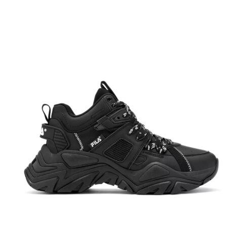 Fila Women's Cage/Mid/Mixed/Media Sneakers Black