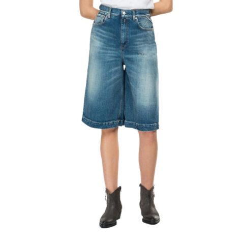 Replay Blue Jeans Denim Bermuda Shorts