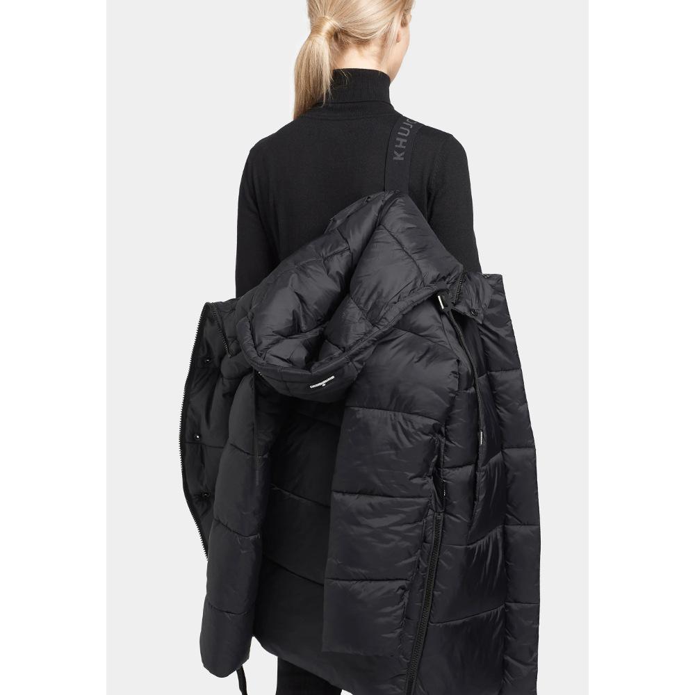 Khujo Women's NIDALEE Winter Black Jacket